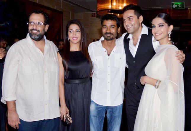 Aanand. L. Rai, Krishika Lulla, Dhanush, Abhay Deol, Sonam Kapoor