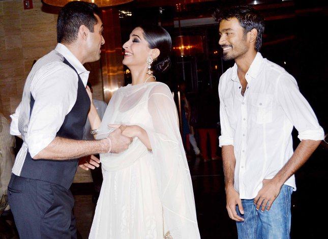 Abhay Deol, Sonam Kapoor, Dhanush 4