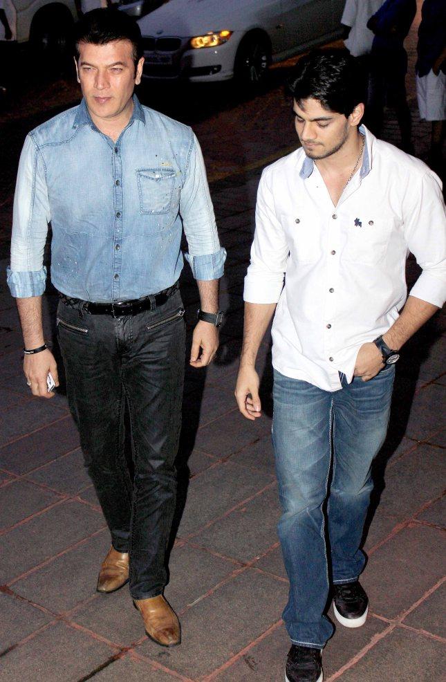 Aditya Pancholi and Suraj Pancholi