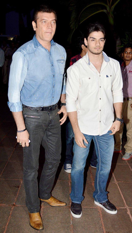 Aditya Pancholi and Suraj Pancholi1