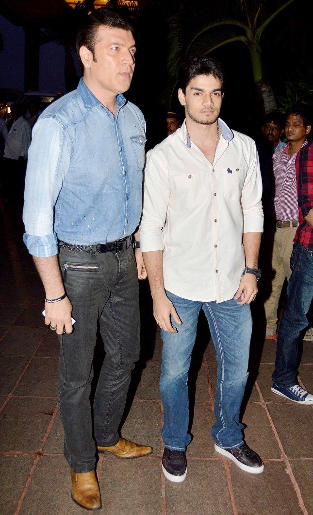 Aditya Pancholi and Suraj Pancholi2