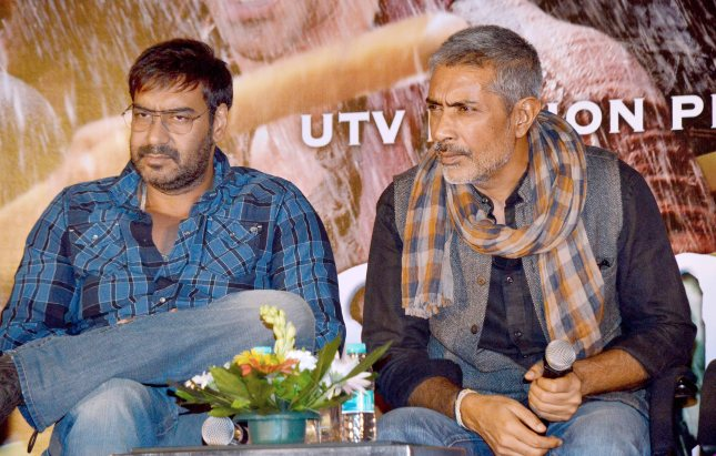 Ajay Devgn and Prakash Jha