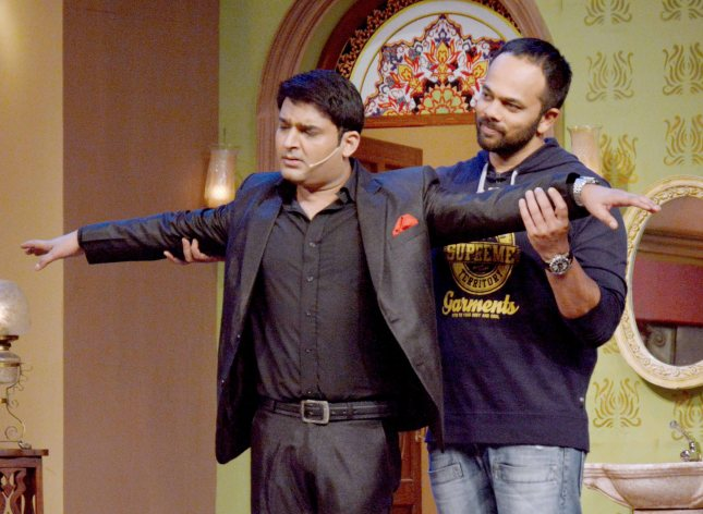 Kapil Sharma and Rohit Shetty