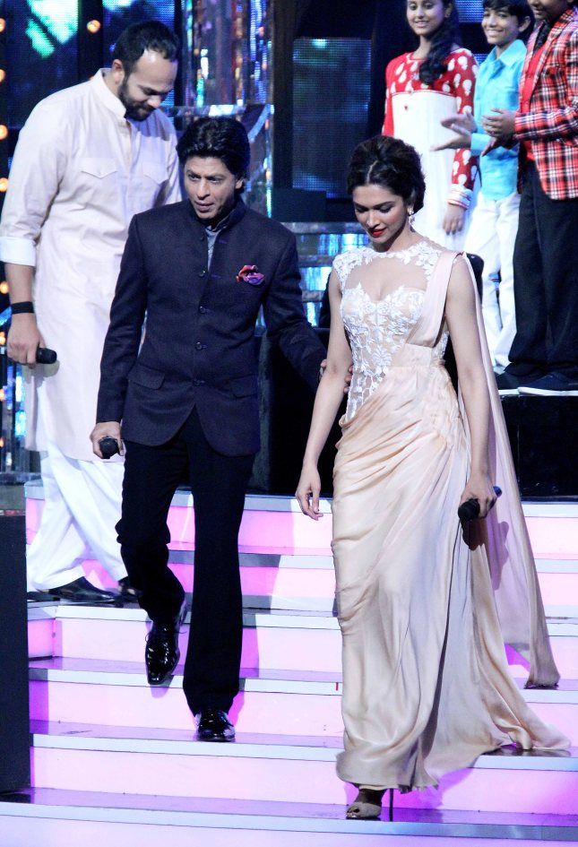 Rohit Shetty, Shah Rukh Khan and Deepika Padukone3