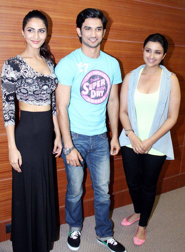 Vaani Kapoor, Sushant Singh Rajput, Parineeti Chopra 1