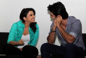 Parineeti Chopra  and Sushant Singh1