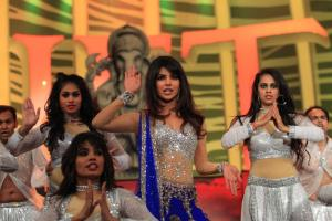 Priyanka Chopra performing at SAIFTA in Durban, South Africa, September 6, 2013.