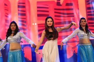 Sanjeeda Shaikh performing at SAIFTA in Durban, South Africa, September 6, 2013.