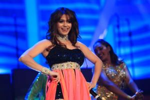 Shalmali Kholgade performing at the SAIFTA in Durban, South Africa, September 6, 2013.