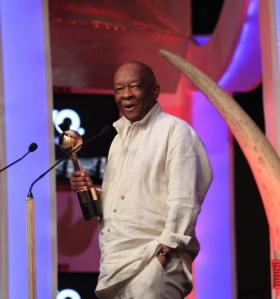 Mr. Welcome Msomi at the SAIFTA in Durban, South Africa, September 6, 2013.