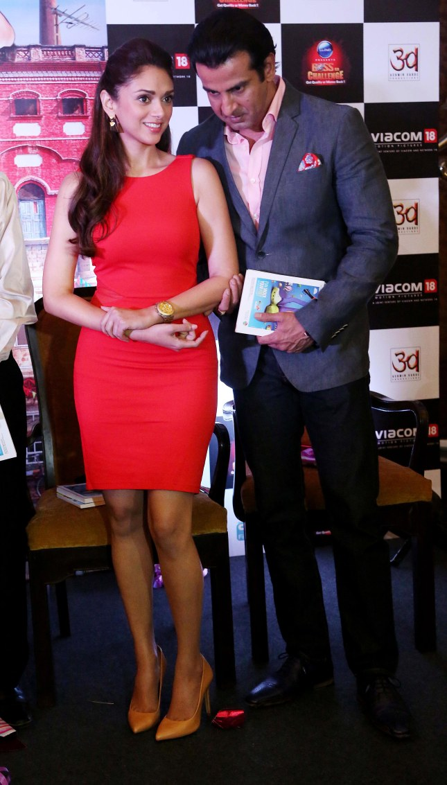 Aditi Rao Hydari and Ronit Roy