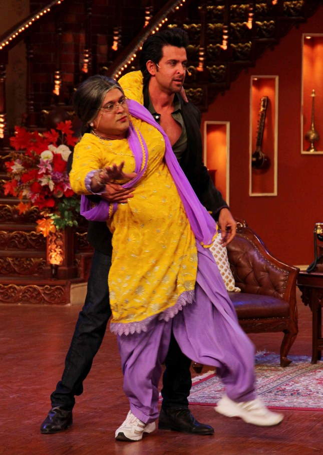 Hrithik Roshan and Ali Asgar (4)