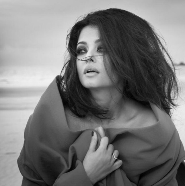 Pictured with tousled hair, Aishwarya looks smoking hot as she oozes sex appeal in this one.