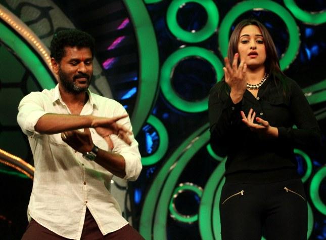 Prabhu Deva and Sonakshi Sinha