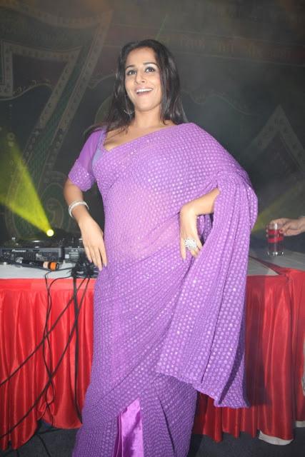 Vidyabalan Latest Stills in Saree-Dec 2012