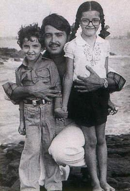 Hrithik Childhood snap