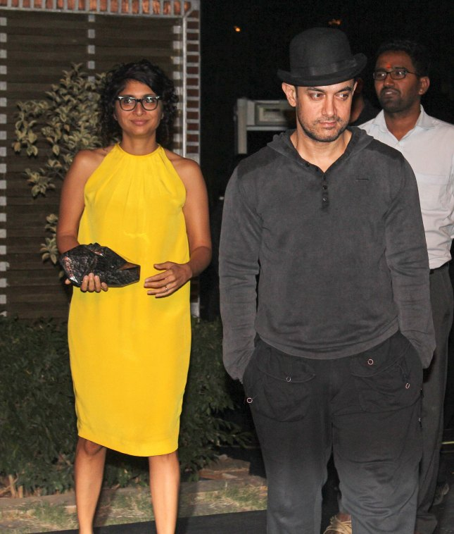 Kiran Rao and  Aamir Khan (1)